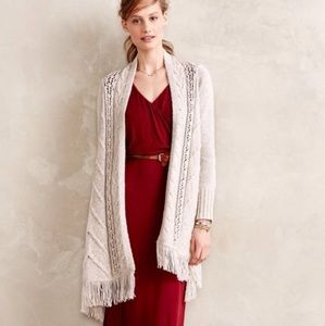 ANGEL OF THE NORTH Anthropologie Anais Cardigan